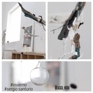 Sergio Santurio  Hiems Plúmule. 2014 Móvil colgante